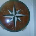 Estrella en mármol