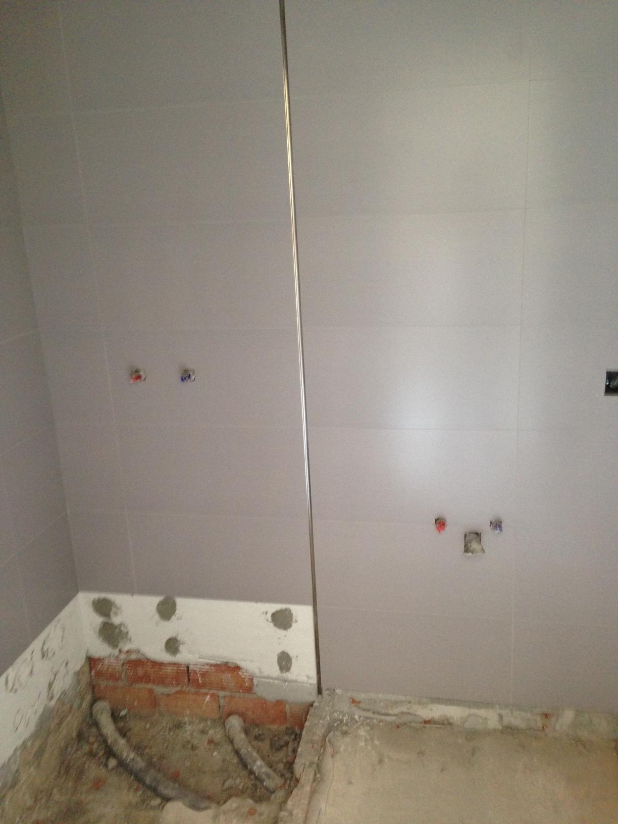 Alicatado de ba os y lavaderos obras y servicios m laga - Alicatado para banos ...