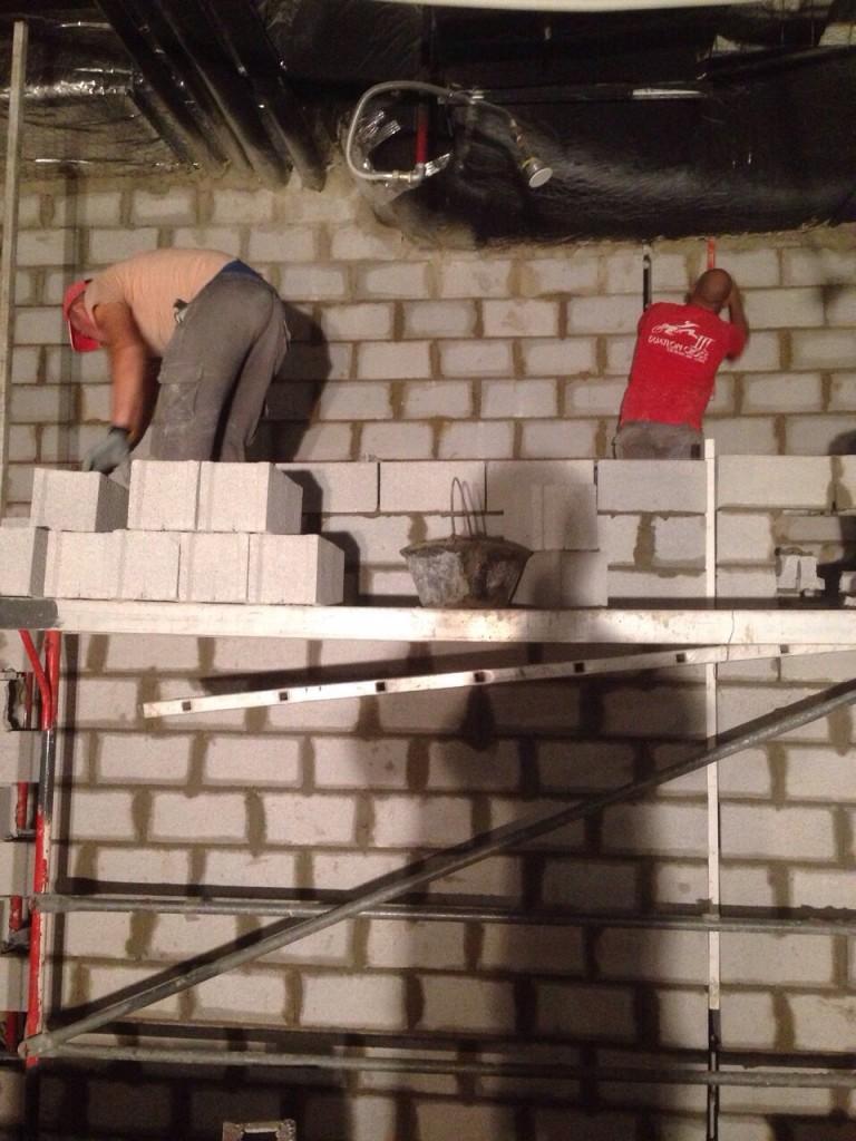 Construir paredes de bloques de hormig n o alem n obras for Solados de hormigon