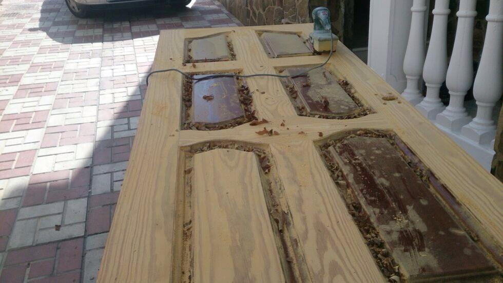 Restauraci n de puertas obras y servicios m laga - Puertas exterior malaga ...
