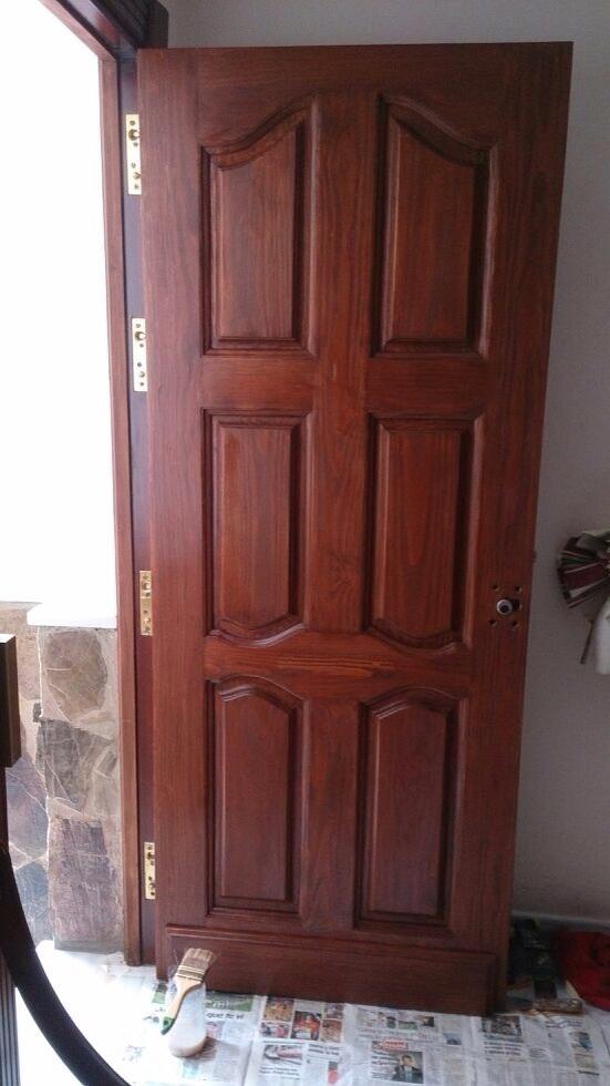 Restauraci n de puertas obras y servicios m laga for Puertas de madera malaga