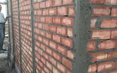 Levantamiento de tabiques de ladrillos cerámicos