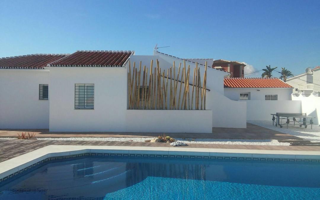 Construcción de jardineras de diseño en Málaga